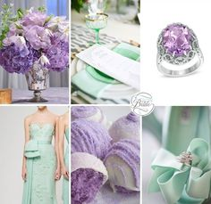 Lilac and Mint Wedding Inspiration Wedding Mint Green, Gold Wedding Colors, Wedding Color Schemes, Summer Wedding, Lime Wedding, Whimsical Wedding, Wedding Wishes, Wedding Bride, Our Wedding