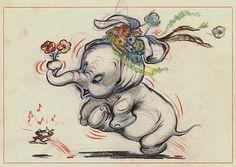 Dumbo concept art