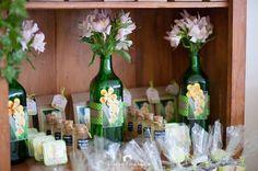 Favors + Floral Arrangements from a Tinkerbell Fairy Garden Birthday Party via Kara's Party Ideas KarasPartyIdeas.com (25)