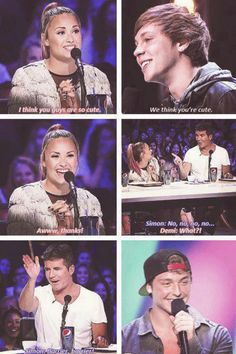 I love Simon and Demi's relationship so much.