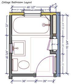6 ft x 6 ft full bathrooms   ft x 8 ft 5' Bathroom ...