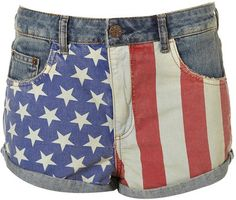 #AmericanFlag #TopShop #Shorts Own this item? Drag this image to your desktop and upload it to your WiShi closet! http://wishi.me