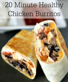I'm using the Fooducate app to lose weight & eat healthy. Here's a healthy recipe I just found:  Healthy Chicken Burrito  More @fooducate.com  Get Fooducate to lose weight & eat healthy (Free for iPhone and Android)