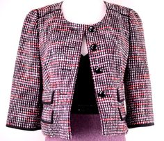 Ann Taylor Loft Tweed Jacket Size 2