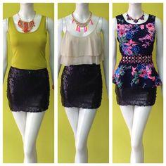 Combinando la misma falda negra de lentejuelas #getthelook #amolapeli #maximiza #instafashion #sequins