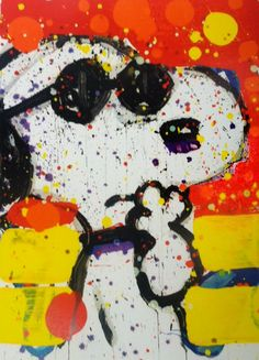 Cool and Intelligent 2000 by Tom Everhart - Hand Pulled Lithograph