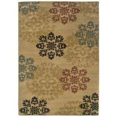Evanston Hancock Gold 7 ft. 10 in. x 10 ft. Area Rug, 288557 at The Home Depot - Tablet