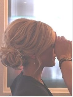 absolute favorite hair for the wedding!!!!!