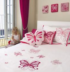 Image for Toddler Girl Room Decorating Ideas Bedroom Themes, Kids Bedroom, Bedroom Decor, Bedroom Ideas, Bedrooms, Bed Sheet Sets, Bed Sheets, Decorating Toddler Girls Room, Pink Office Decor