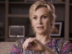 """WATCH: Jane Lynch Tells Her Coming Out Story for It Got Better """"I live in a world where I don't give a shit if you have a problem with who I am,"""" Jane says of her life now. But she wasn't always that open. BY: TRACY E. GILCHRIST MAY 14 2014 7:50 PM courtesy of shewired"""