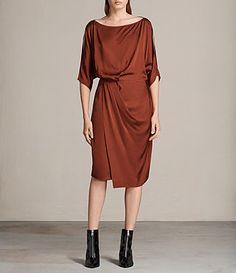Sina Satin Dress