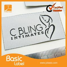 BasicLabel  - Cheap Custom Clothing Labels  Woven Labels hang tag - op Etsy