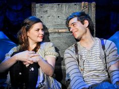 I dream of making theatre like this... Show Photos - Peter and the Starcatcher - Nicole Lowrance -