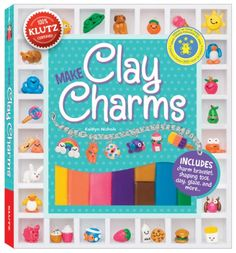 #book Make Clay Charms Klutz