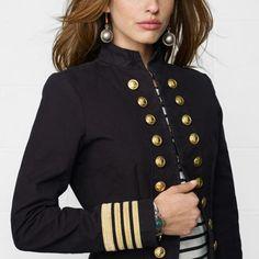 Captain's Coat - Denim & Supply  Outerwear - RalphLauren.com I WANT THIS!!!!