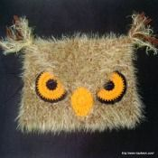 Crochet Angry Owl Hat