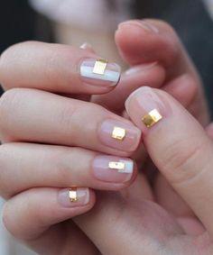 So schön Golden Tap Nail Art Designs, um dieses Jahr zu versuchen #designs #dieses #golden #schon #versuchen