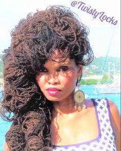 #twistylocks #blackgirlsloc #loclivin #naturalhairsalon #locstyles #blackhair…