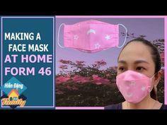 Veja como fazer máscara 3D de tecido passo a passo com molde para imprimir em casa de um jeito fácil e rápido para proteção contra o coronavírus. Mascara 3d, Sewing Projects, Projects To Try, Techniques Couture, Pattern Cutting, Clothing Hacks, Diy Face Mask, Fabric Crafts, Diy And Crafts