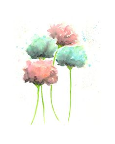 Hey, I found this really awesome Etsy listing at https://www.etsy.com/listing/186021098/watercolor-painting-watercolor-flowers
