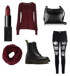 """Untitled #38"" by halel-etkes on Polyvore featuring interior, interiors, interior design, home, home decor, interior decorating, ONLY, Glamorous, Dr. Martens and Kara"