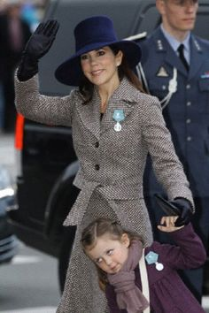 Crown Princess Mary of Denmark and Princess Isabella