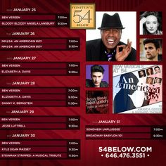 View calendar of upcoming artists and buy tickets.