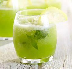Frosty Basil Lemonade | Vitamix
