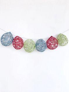 Le uova di Pasqua fatte a mano con palloncini e corde colorate, sono delle bellissime decorazioni per abbellire la casa! ☺️ Scopri come realizzarle 👇 #splitmind #pasqua #easter #uova #colors #faidate #handmade #lifestyle