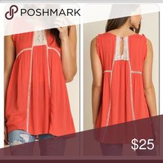 NWOT Umgee top Super cute coral flowy top. Needed a small in this. Would be better for someone with a larger chest. Tops