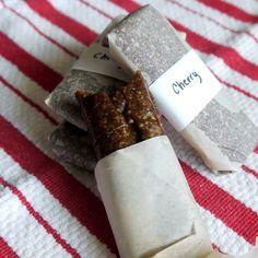 No-Bake, Cherry-Vanilla Snack Bars Recipe from MOTHER EARTH NEWS magazine.