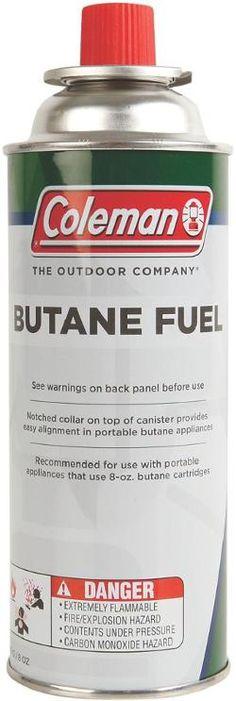 Coleman Butane Fuel Cylinder - 8 oz.