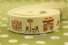 V125 - cotton tape/ sewing tape/ Ribbon - cotton - sightseeing  *** [FREE SHIPPING NOW!!!]   https://www.etsy.com/listing/84535594/v125-cotton-tape-sewing-tape-ribbon?ref=shop_home_active
