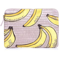 Lizzie Fortunato Safari bananas clutch (€260) ❤ liked on Polyvore featuring bags, handbags, clutches, purses, fillers, accessories, genuine leather handbags, pink purse, leather purse y real leather handbags