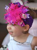 DIY - Make Your Own Flower Baby Headbands | Baby Lifestyles