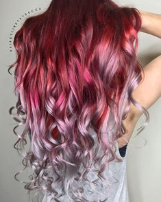50 stunning hair color trends that took the world by storm .- 50 atemberaubende Haarfarbtrends, die die Welt im Sturm erobern , 50 stunning hair color trends that are taking the world by storm - Hair Color Pink, Hair Dye Colors, Cool Hair Color, Exotic Hair Color, Hair Colours 2018, Hair Colour Ideas, Long Pink Hair, Vivid Hair Color, Beautiful Hair Color