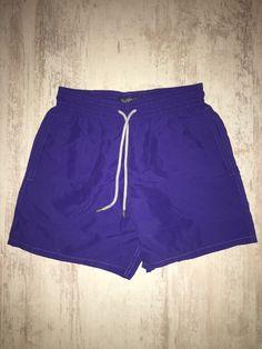d521195240 NEW Vilebrequin Swim Shorts Swimwear Solid Royal Purple Size M New Man, Swim  Shorts,