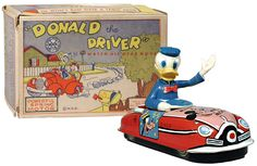 Marx, Donald The Driver (Factory Sample)