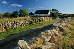 Beautiful rural irish landscape around Cnoc Suain