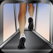 FUN RUN.  As I walk on the treadmill, this app keeps me company.  I can create my own routes and workouts.