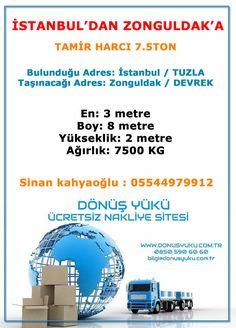 Dönüş Yükü,Evden eve nakliye, Yük Bul,Nakliyeci Bul,Ucuz nakliye,Yük ara,ucuz taşıma Istanbul