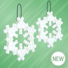 Platecraft ornament - snowflake (2x)