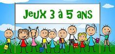 Voici tous les jeux maternelle que Jeux et Compagnie vous propose de faire avec les enfants de 3 à 5 ans. Des jeux amusants et adaptés à leur âge, les en...