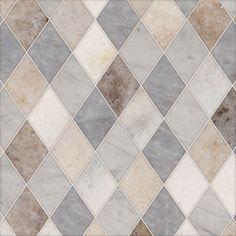 Talya Multi Finish 9 5/16x10 1/2 Almas Pa Al Av Marble Waterjet Mosaics