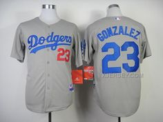 http://www.xjersey.com/dodgers-23-gonzalez-grey-2014-jerseys.html DODGERS 23 GONZALEZ GREY 2014 JERSEYS Only $35.00 , Free Shipping!