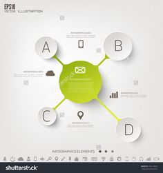 Cloud Computing Background With Web Icons. Social Network. Mobile App. Infographic Elements. Stock-Vektorgrafik - Illustration 196119692 : Shutterstock