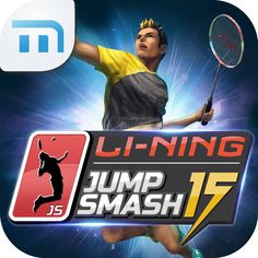 BEST OF BOTH WORLDS! Li-Ning Jump Smash 2015 will be released soon! Now you can enjoy the best of both worlds & play on the court & on your smart phone! Find more information about Jump Smash here: www.vmediasoft.com & Li-Ning badminton products here: www.shopbadmintononline.com Be Bold | Go Beyond ‪#‎MakeTheChange‬!
