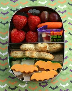 cute lunch for halloween!