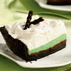Grasshopper Cream Pie
