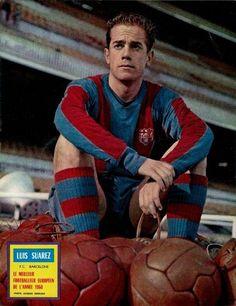 Luis Suárez Miramontes(Espagne), Ballon d'Or en 1960 avec le FC Barcelone
